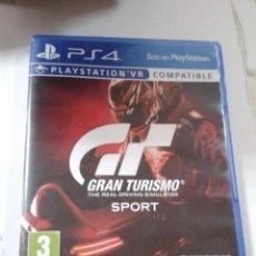 Videojuegos y Consolas PS4: GRAN TURISMO SPORT. PS4.. Lote 206280082
