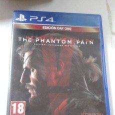 Videojuegos y Consolas PS4: METAL GEAR SOLID V: PHANTOM PAIN - DAY ONE EDITION. PS4.. Lote 206281851