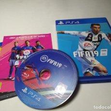 Videojuegos y Consolas PS4: FIFA 19 ( PLAYSTATION 4 -PAL - ESP ). Lote 206370248