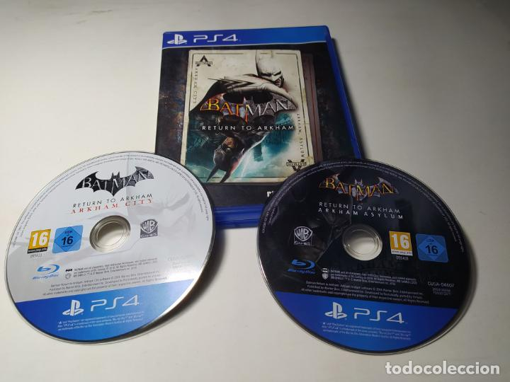 BATMAN - RETURN TO ARKHAM ( 2 DISC) ( PLAYSTATIO 4 - PAL - EURO ) (Juguetes - Videojuegos y Consolas - Sony - PS4)