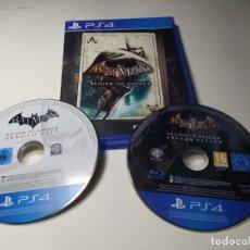 Videojuegos y Consolas PS4: BATMAN - RETURN TO ARKHAM ( 2 DISC) ( PLAYSTATIO 4 - PAL - EURO ). Lote 206370962