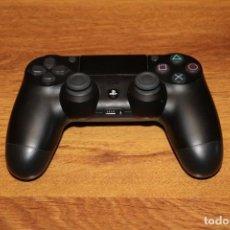 Videojuegos y Consolas PS4: MANDO ORIGINAL SONY DUALSHOCK PS4 COLOR NEGRO BUEN ESTADO CONSOLA VIDEOJUEGO CONTROLLER. Lote 206391073