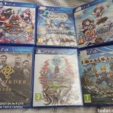 Videojuegos y Consolas PS4: LOTE VÍDEOJUEGOS DE LA PLAY STATION 4 PRECINTADOS.. Lote 207084857