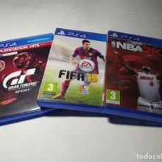 Videojuegos y Consolas PS4: LOTE / PACK 3 JUEGOS PLAYSTATION 4. Lote 207561268