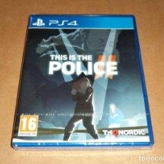 Videojuegos y Consolas PS4: THIS IS THE POLICE II , PARA SONY PLAYSTATION 4 ,A ESTRENAR, PAL. Lote 224263255