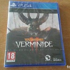 Videojuegos y Consolas PS4: WARHAMMER II VERMINTIDE DELUXE EDITION PS4 PAL ESPAÑA PRECINTADO. Lote 207886891