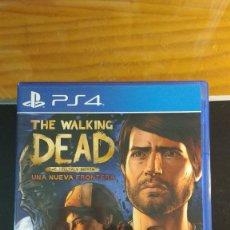 Videojuegos y Consolas PS4: THE WALKING DEAD (TEMPORADA 3) - UNA NUEVA FRONTERA - JUEGO PS4 - SIN USO - TELLTALE GAMES SERIES. Lote 207918032