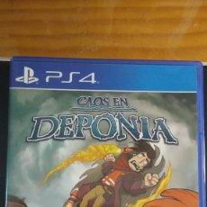 Videojuegos y Consolas PS4: CAOS EN DEPONIA - JUEGO PS4 - SIN USO. Lote 207919827