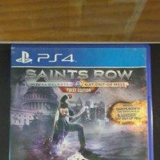 Videojuegos y Consolas PS4: SAINTS ROW IV - JUEGO PS4. Lote 207922985
