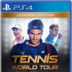 Videojuegos y Consolas PS4: PS4 TENNIS WORLD TOUR, LEGENDS EDITION (EDICIÓN ESPAÑOLA). Lote 208278871