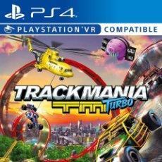 Videojuegos y Consolas PS4: PS4 TRACKMANIA TURBO (EDICIÓN ESPAÑOLA). Lote 208279185