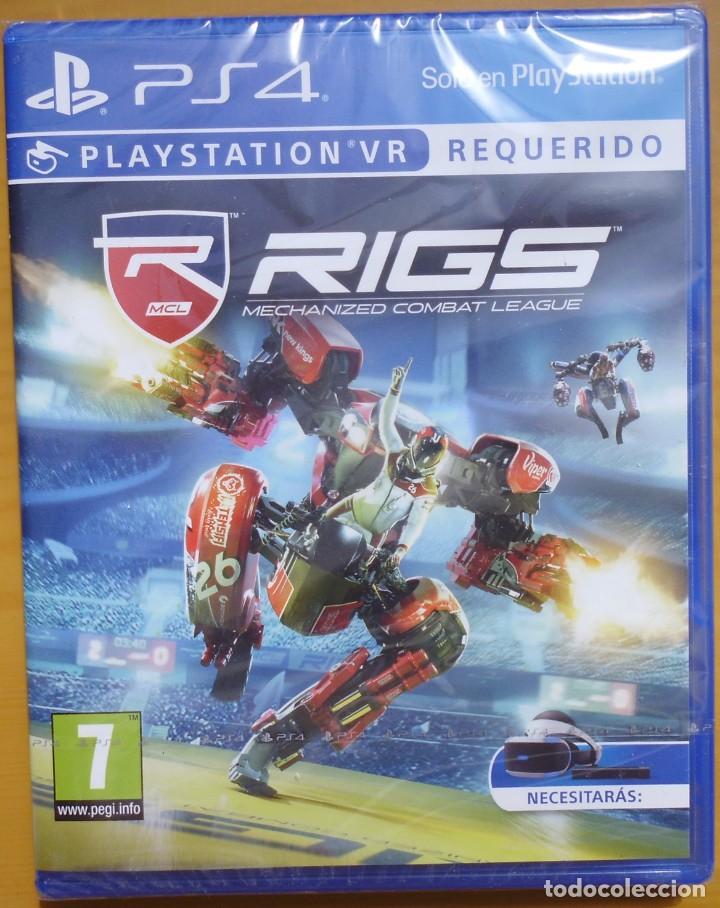 JUEGO PARA PS4 PLAYSTATION RIGS MECHANIZED COMBAT LEAGUE NUEVO SIN DES PRECINTAR (Juguetes - Videojuegos y Consolas - Sony - PS4)
