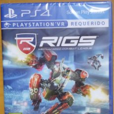 Videojuegos y Consolas PS4: JUEGO PARA PS4 PLAYSTATION RIGS MECHANIZED COMBAT LEAGUE NUEVO SIN DES PRECINTAR. Lote 208957437