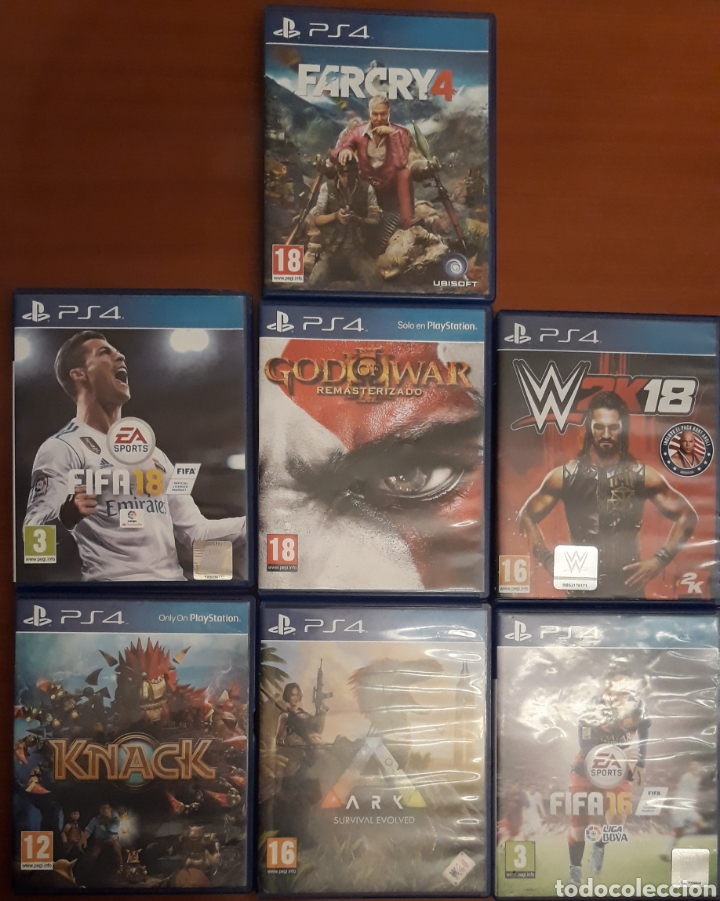 LOTE JUEGOS PS4 (Juguetes - Videojuegos y Consolas - Sony - PS4)