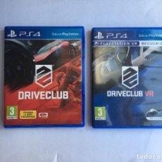Videojuegos y Consolas PS4: DRIVECLUB + DRIVECLUB VR PS4. Lote 210461197