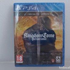 Videojuegos y Consolas PS4: KINGDOM COME DELIVERANCE - VIDEOJUEGO PS4 A ESTRENAR (PAL ESP). Lote 211489295