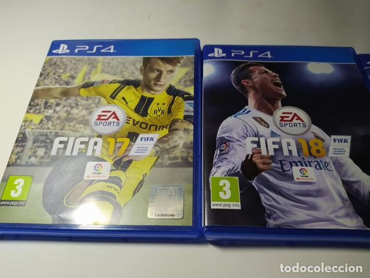 Videojuegos y Consolas PS4: Fifa 17 + Fifa 18 + Star Wars Battlefront ( PS4 - Playstation 4 - Pal España) - Foto 2 - 211875261