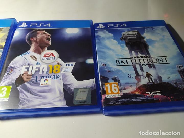 Videojuegos y Consolas PS4: Fifa 17 + Fifa 18 + Star Wars Battlefront ( PS4 - Playstation 4 - Pal España) - Foto 3 - 211875261