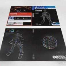 Videojuegos y Consolas PS4: LAMINA JUEGO REZ INFINITE , PARA FUNDA JUEGO DE PS4. Lote 212322053