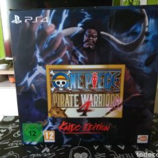 Videojuegos y Consolas PS4: CAJA E INTERIOR ONE PIECE PIRATE WARRIORS 4 KAIDO EDITION. EDICION COLECCIONISTA. PLAYSTATION 4. PS4. Lote 212640012