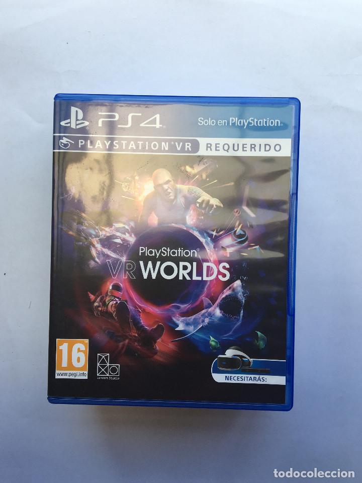PLAYSTATION VR WORLDS (Juguetes - Videojuegos y Consolas - Sony - PS4)