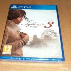 Videojuegos y Consolas PS4: SYBERIA 3 PARA SONY PLAYSTATION 4 / PS4 ,A ESTRENAR, PAL. Lote 212778733