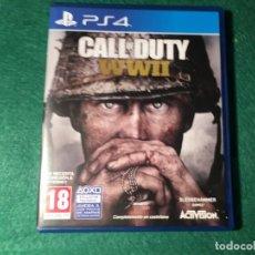 Videojuegos y Consolas PS4: JUEGO PS4 CALL DUTY WWII. Lote 214929570