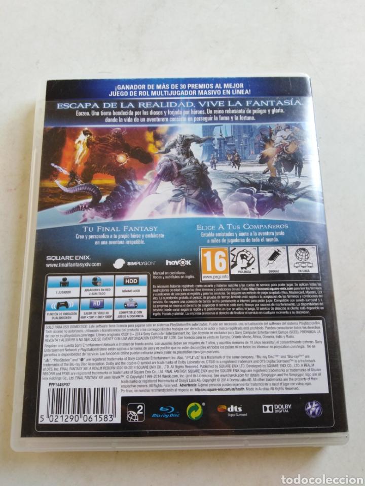 Videojuegos y Consolas PS4: Ps4 a Realm Reborn final fantasy XIV - Foto 2 - 216884713