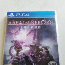 Videojuegos y Consolas PS4: PS4 A REALM REBORN FINAL FANTASY XIV. Lote 216884713