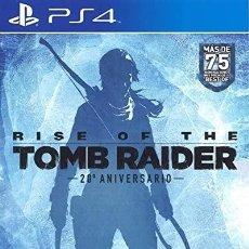 Videojuegos y Consolas PS4: PS4 RISE OF THE TOMB RIDER (20 ANIVERSARIO) EDICION ESPAÑOLA.. Lote 217274846
