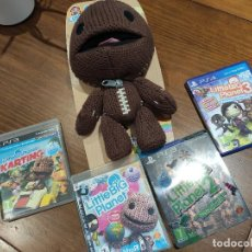 Videojuegos y Consolas PS4: COLECCION LITTLE BIG PLANET PS4 + PS3 - EDICION LIMITADA. Lote 217598630
