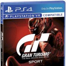 Videojuegos y Consolas PS4: PS4 GRAN TURISMO SPORT (EDICION ESPAÑOLA). Lote 217608252