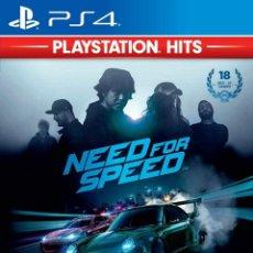 Videojuegos y Consolas PS4: PS4 NEED FOR SPEED (EDICION ESPAÑOLA). Lote 217610445