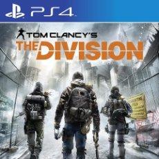 Videojuegos y Consolas PS4: PS4 TOM CLANCY´S THE DIVISION (EDICION ESPAÑOLA). Lote 217611118