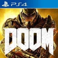 Videojuegos y Consolas PS4: PS4 DOOM (EDICION FRANCESA CON CASTELLANO). Lote 217712581