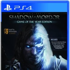 Videojuegos y Consolas PS4: PS4 MIDDLE EARTH: SHADOW OF MORDOR, GOTY (GAME OF THE YEAR). Lote 217722462