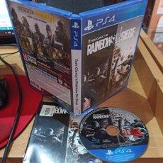 Videojuegos y Consolas PS4: RAINBOW SIX SIEGE (PS4) - SEMINUEVO. Lote 217736347