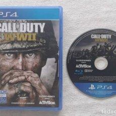Videojuegos y Consolas PS4: JUEGO PS4 CALL OF DUTY WWII. Lote 217776093