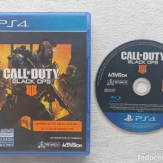 Videojuegos y Consolas PS4: JUEGO PS4 CALL OF DUTY BLACK OPS 4. Lote 217779191