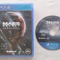 Videojuegos y Consolas PS4: JUEGO PS4 MASS EFFECT ANDROMEDA. Lote 217780171