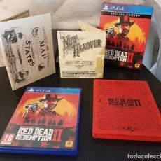 Videojuegos y Consolas PS4: PS4 RED DEAD REDEMPTION II (SPECIAL EDITION + STEELBOOK) EDICIÓN ESPAÑOLA. Lote 217847765
