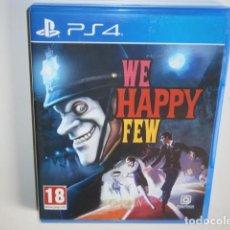 Videojuegos y Consolas PS4: WE HAPPY FEW PS4. Lote 217978032