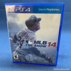 Videojuegos y Consolas PS4: VIDEOJUEGO - PLAYSTATION 4 - PS4 - MLB 14 THE SHOW + CAJA. Lote 218029627