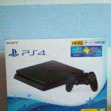 Videojuegos y Consolas PS4: PLAYSTATION 4 SLIM 500 GB.. Lote 218122331