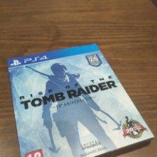 Videogiochi e Consoli: RISE OF THE TOMB RAIDER 20 ANIVERSARIO PS4 PERFECTO ESTADO. Lote 218205257
