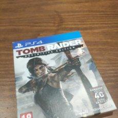 Videojuegos y Consolas PS4: TOMB RAIDER DEFINITIVE EDITION PS4. Lote 218205972