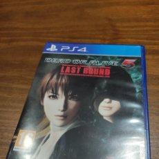 Videojuegos y Consolas PS4: DEAD OR ALIVE 5 LAST ROUND PS4. Lote 218265100