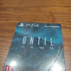 Videogiochi e Consoli: UNTIL DAWN PS4. Lote 218265233