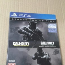 Videojuegos y Consolas PS4: CALL OF DUTY: INFINITE WARFARE + CALL OF DUTY: MODERN WARFARE. PS4. LEGACY PRO EDITION. Lote 218521621