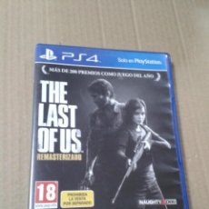 Videojuegos y Consolas PS4: THE LAST OF US - REMASTERED. PS4.. Lote 218521982